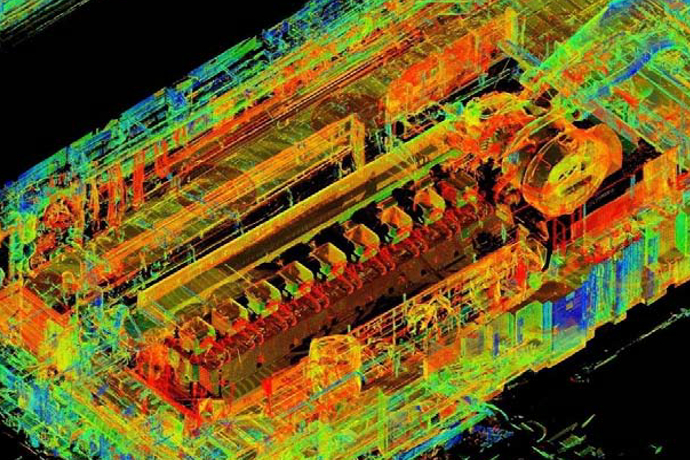 Retrofitting by use of 3D laser scanning